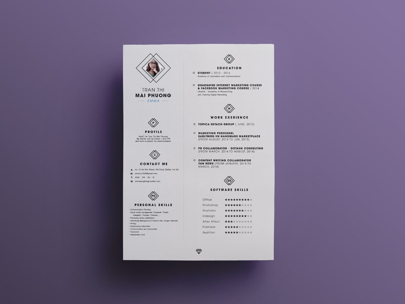 5 downloadable free resume templates 2018 download now graphicslot